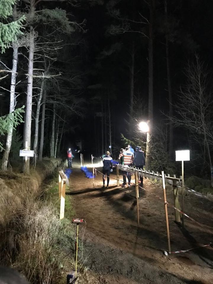 Från den mörja natten, Kattegattnatt årets första tävling.
