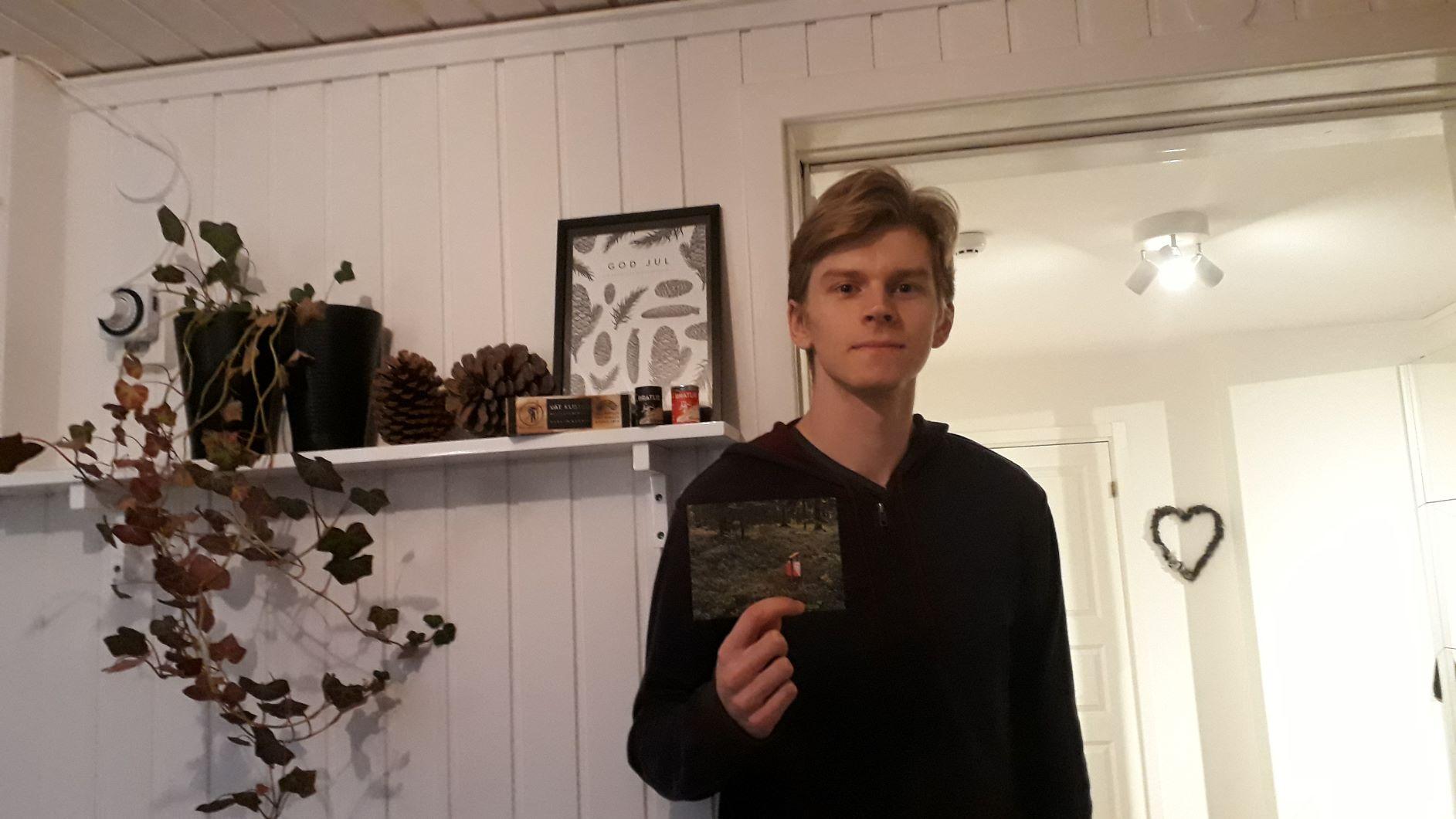 Årets segrare Ville Johansson